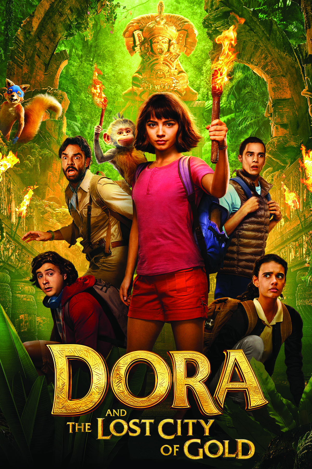 Dora and the Lost City of Gold • PG