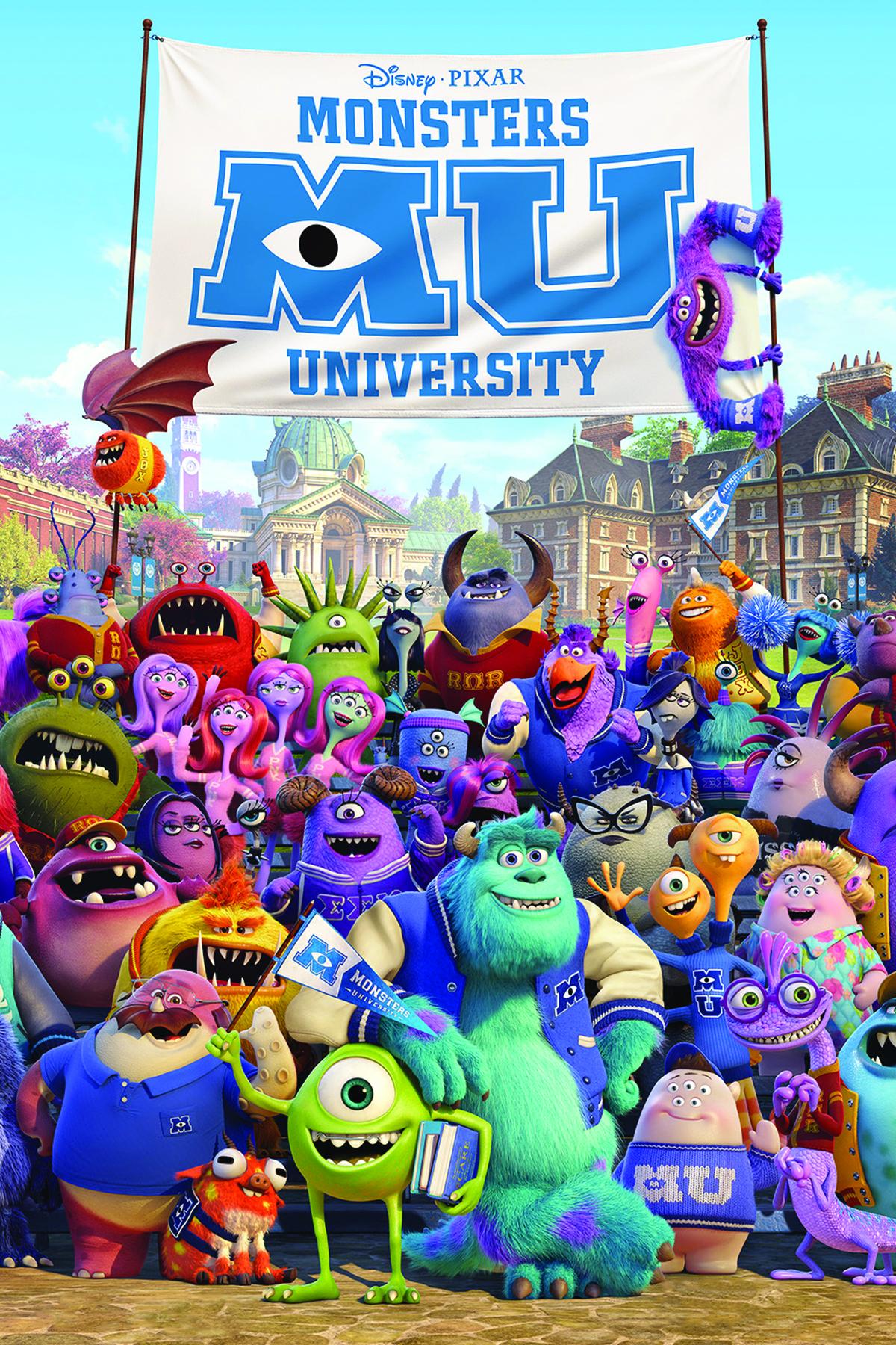 Monsters University • G